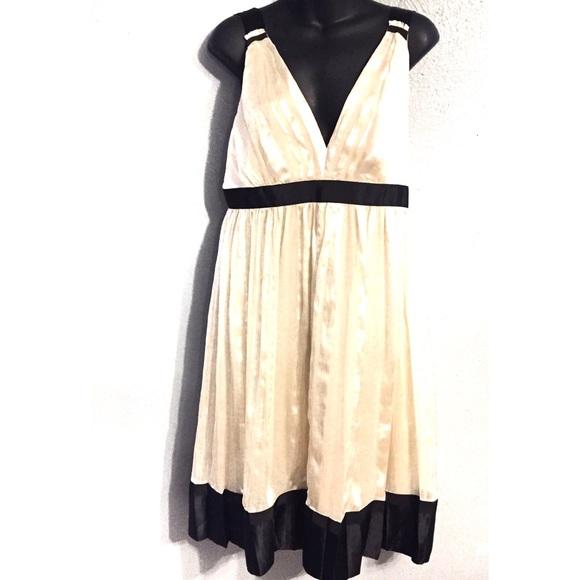 Zara Dresses & Skirts - Zara Women's Silk Pleated Midi Dress Size L